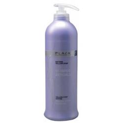 Black Yellow Stop Šampon pro melírované a šedivé vlasy 500 ml