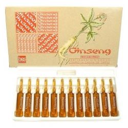 Bes Ginseng Ampule proti padání vlasů s Žen - Šenem 12 x 10 ml