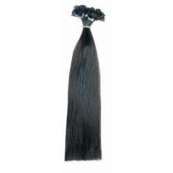 Socap přírodní vlasy 30cm vlnité 25ks