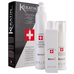 Lovien Keratin Biotissulare sada pro regeneraci vlasů