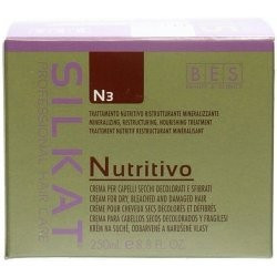 Bes Silkat Nutritivo Regenerační maska na poškozené vlasy 250 ml