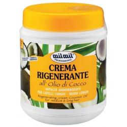 Mil Mil Bylinkový regenerační krém na vlasy 1000 ml - All olio di cocco