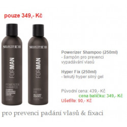 Powerizer shampoo 250ml + Hyper fix 250ml