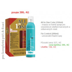 All in one color 150ml + Fix control 200ml