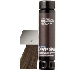 Loreal Professionnel Homme Cover 5 Hair Color 1 lahvička 50ml - 7 Střední Blond