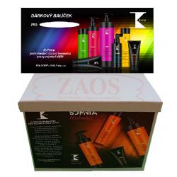 Dárkový balíček K-Time obsahující šampon 1000ml a masku 500ml