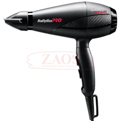 BaByliss PRO Fén Black Star Ionic BAB6250IE